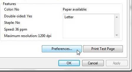 چاپ دو رو خودکار در پرینتر 2055