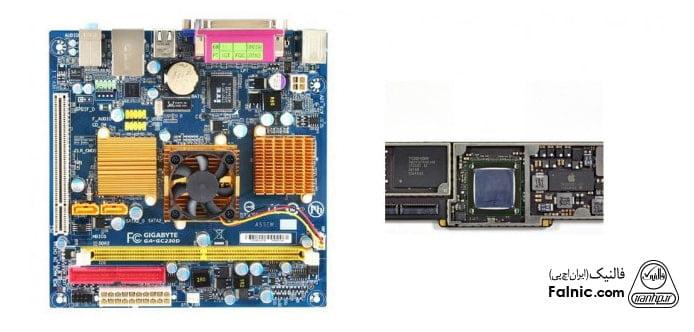 مقایسه SoC و CPU