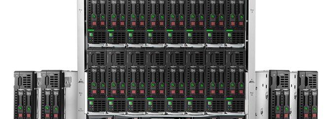 معرفی اچ پی سرور Blade Server