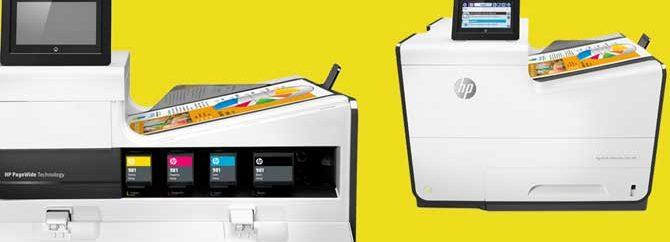 ویدیو/ پرینتر اداری HP PageWide Enterprise Color 556