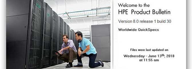 آشنایی با نرم افزار HPE Product Bulletin