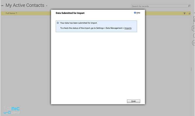 چگونه اطلاعات را در Microsoft CRM وارد کنیم؟