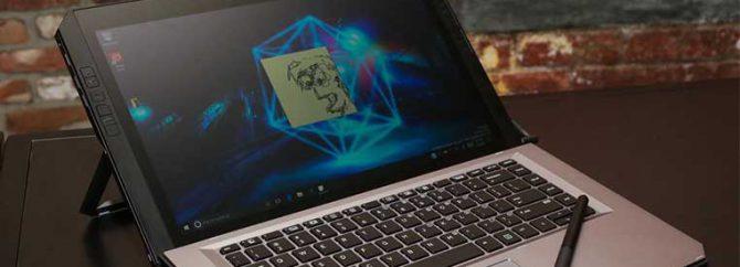 لپ تاپ اچ پی ZBook x2 بهترین انتخاب برای گرافیست ها