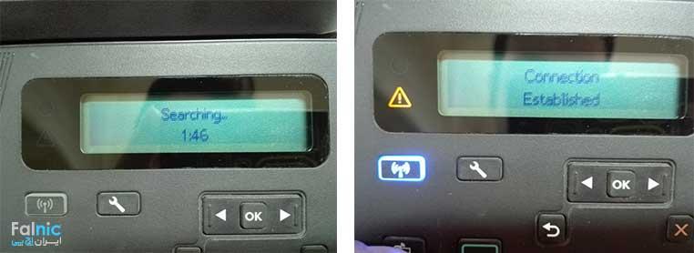 نصب و راه اندازی پرینتر HP M125nw به صورت وایرلس