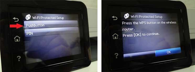 نصب پرینتر HP Pro MFP M426 به صورت وایرلس