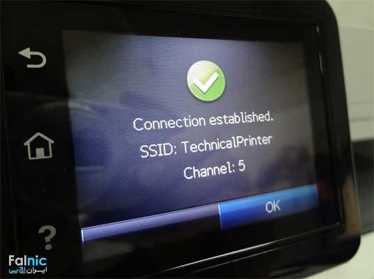 آموزش نصب پرینتر HP Pro MFP M426 با وایرلس