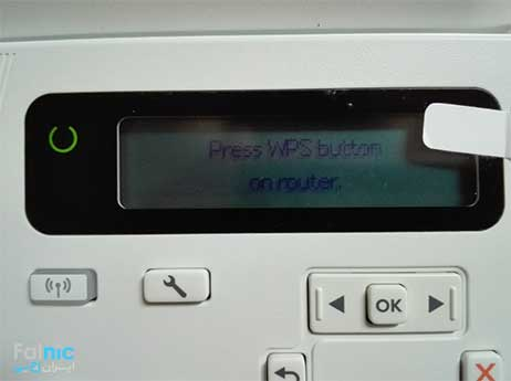 نصب و راه اندازی پرینتر Hp M26nw بصورت وایرلس