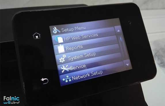 راه اندازی HP eprint در پرینتر HP LaserJet Pro M401