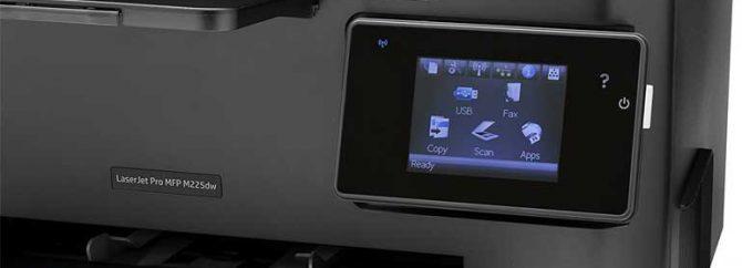 چگونه وایرلس پرینتر HP LaserJet M225dw را نصب و فعال کنیم؟