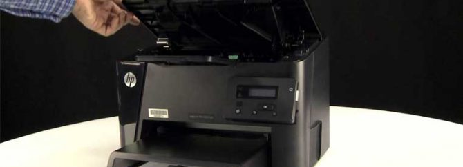 چگونه پرینتر HP M201dw بصورت وایرلس نصب کنیم؟