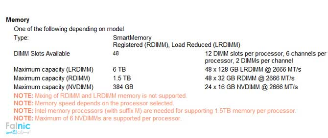 سرور HPE ProLiant DL580 Gen10