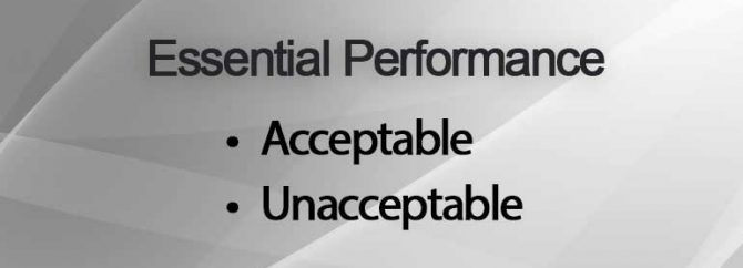 Essential Performance یعنی چه؟