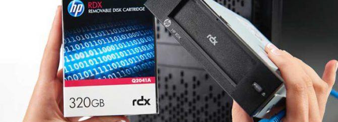 آشنایی با دیسک بکاپ گیری HPE RDX