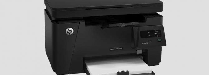 ویدیو/ جعبه گشایی پرینتر HP LaserJet Pro MFP M125a