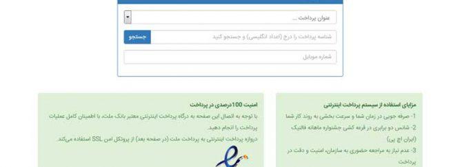 امکان پرداخت اینترنتی فاکتورها در سایت فالنیک (ایران اچ پی)
