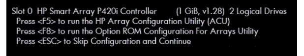 پیکربندی RAID سرورهای اچ پی