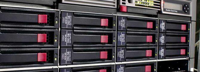 پیکربندی RAID بر روی سرورهای اچ پی