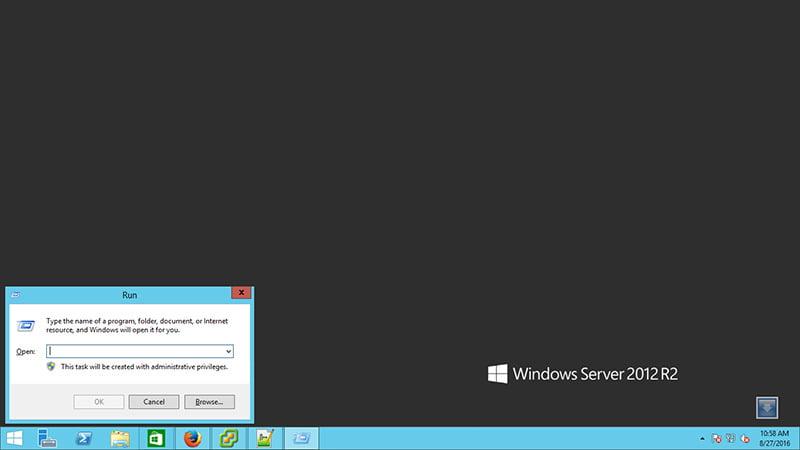 کلیدهای میانبر در ویندوز سرور 2012