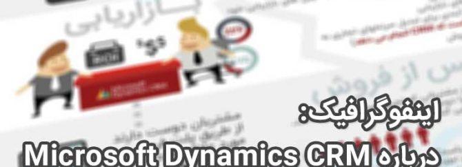 اینفوگرافیک: ویژگی ها و مزایای منحصربفرد Dynamic CRM