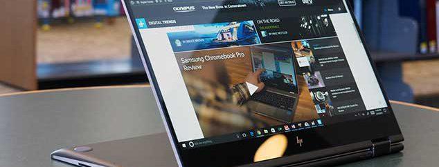 اچ پی لپ تاپ X360 را با پردازنده مشترک اینتل و AMD معرفی کرد
