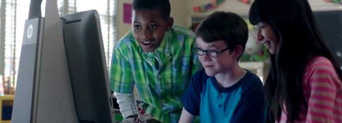ویدیو/ آموزش و پرورش نوین با اچ پی