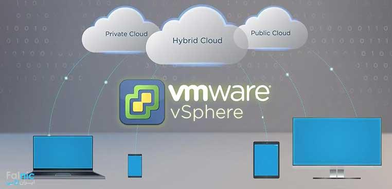 روش مجازی سازی VMware