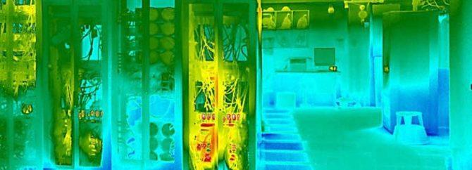 چگونه دمای اتاق سرور را اندازه بگیریم؟