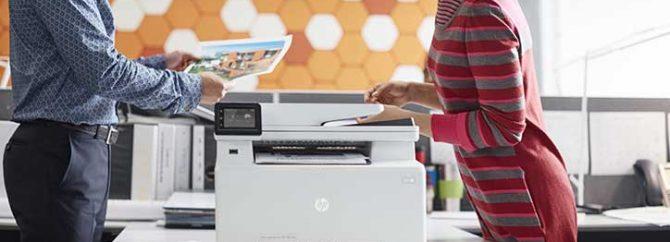 اسکن اسناد و تصاویر با گوشیهای اندروید و پرینتر HP M130fw