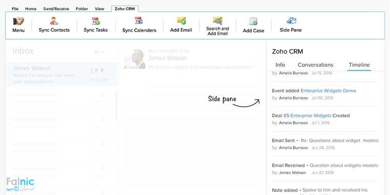 درباره Zoho CRM