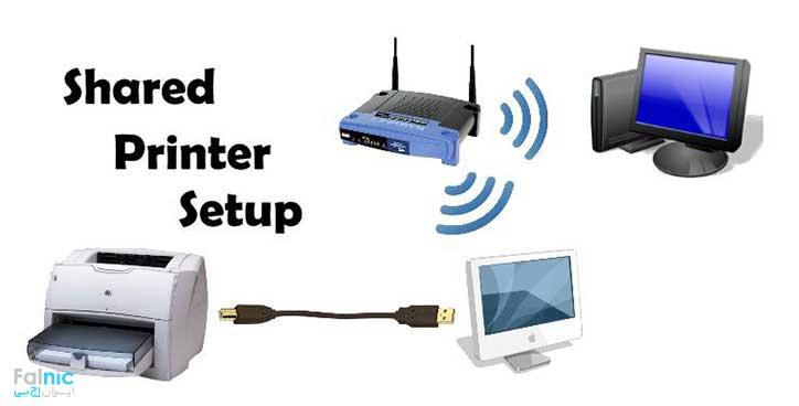 اتصال پرینتر از طریق Access Point