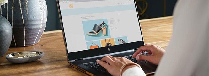 معرفی لپ تاپ HP Spectre X360 در CES 2017