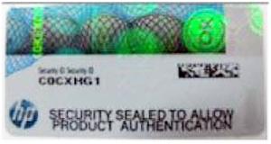شناسایی قطعات اورجینال سرور اچ پی