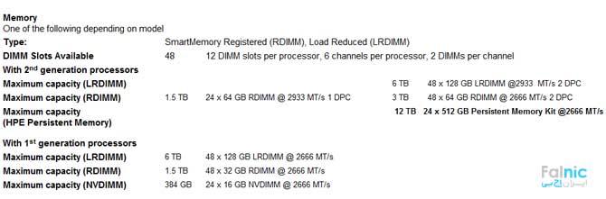 سرور HPE ProLiant DL560 Gen10