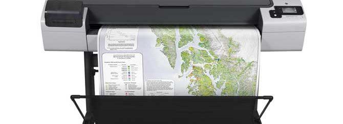 بررسی پلاتر HP Designjet T795