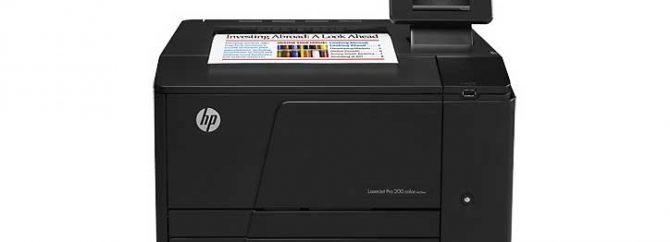 بررسی پرینتر HP Laserjet M251nw