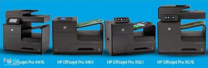 پرینترهای تجاری OfficeJet x اچ پی