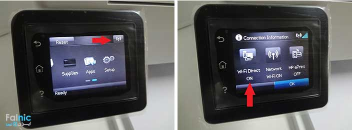 روش اتصال مستقیم گوشی موبایل به پرینتر hp