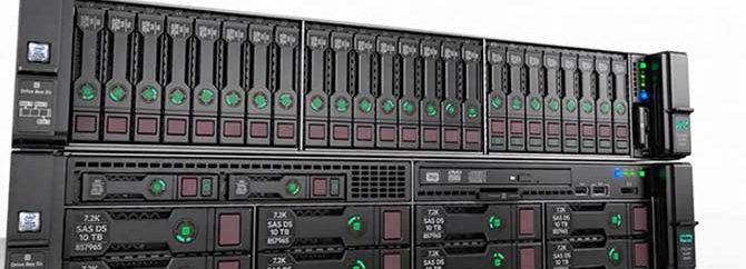 مقایسه کیسهای SFF و LFF در سرور HPE DL380 G10