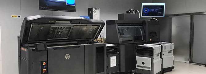 پرینترهای سه بعدی اچ پی با تکنولوژی Multi Jet Fusion