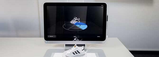 تلفیق واقعیت مجازی و چاپ سه بعدی در کامپیوترهای HP Sprout pro