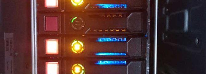 بررسی وضعیت چراغ LEDهای هارد در سرورهای نسل 8 و نسل 9