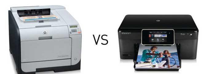 پرینتر لیزری یا جوهرافشان: کدامیک بهتر است؟