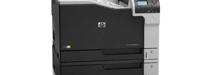 پرینت حرفهای با پرینتر HP Color LaserJet Enterprise M750dn