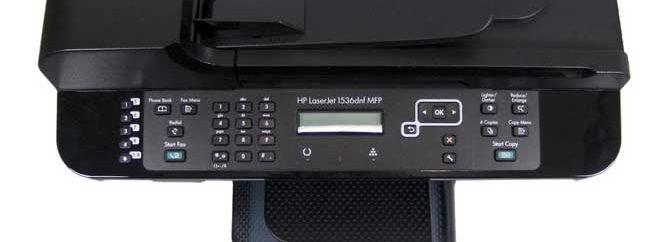 نقد و بررسی پرینتر HP Laserjet Pro M1536dnf