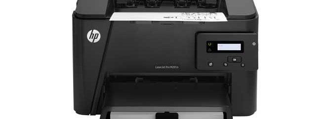 لذت پرینت سریع و امن با HP Laserjet Pro M201n