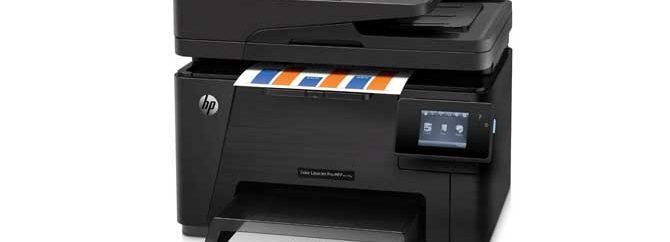 نقد و بررسی پرینتر HP color laser Pro MFP M177fw