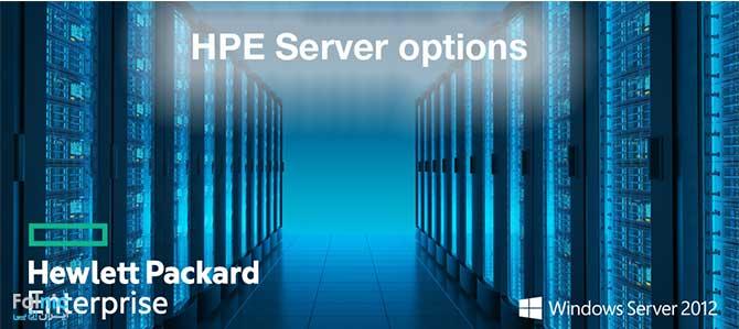 تکنولوژی HPE Server Options