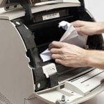 چگونه خطای گیر کردن کاغذ در پرینترهای اچ پی را حل کنیم؟