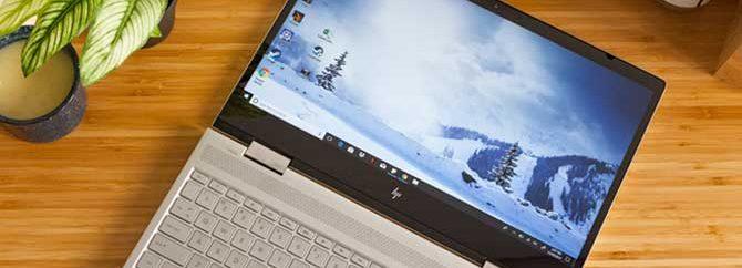 لپ تاپ HP Envy x360 اولین میزبان پردازنده Bristol Ridge