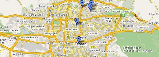 وضعیت لحظه ای ترافیک شهرهای ایران وارد نقشه های گوگل شد